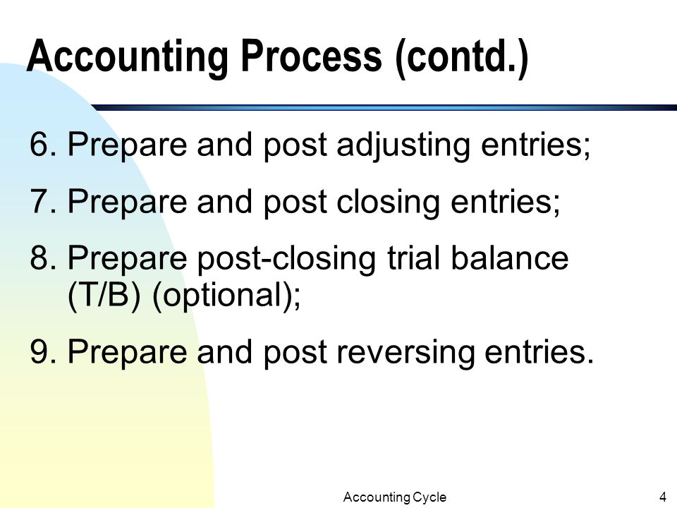 Accounting Cycle14 Examples of the Journal Entries: