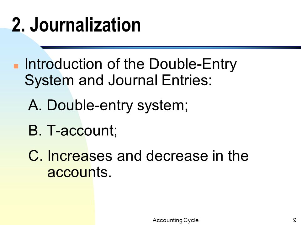 Accounting Cycle19 Accounts ReceivableNo.