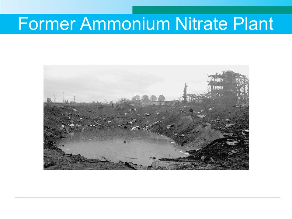 Former Ammonium Nitrate Plant
