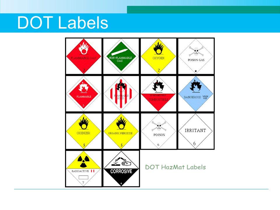 DOT Labels
