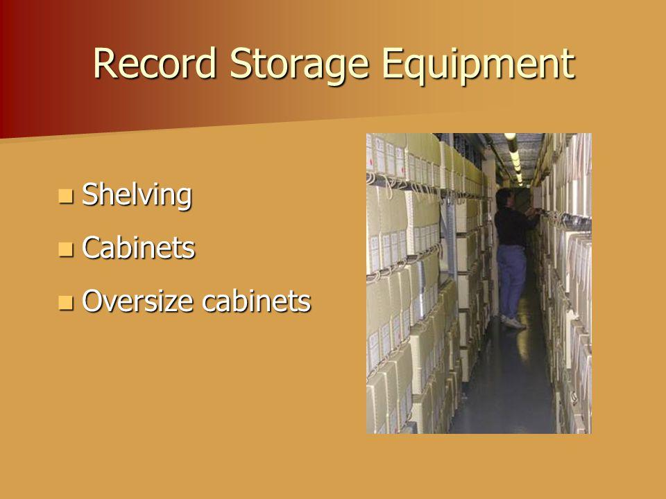 Record Storage Equipment Shelving Shelving Cabinets Cabinets Oversize cabinets Oversize cabinets