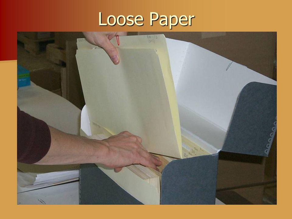 Loose Paper