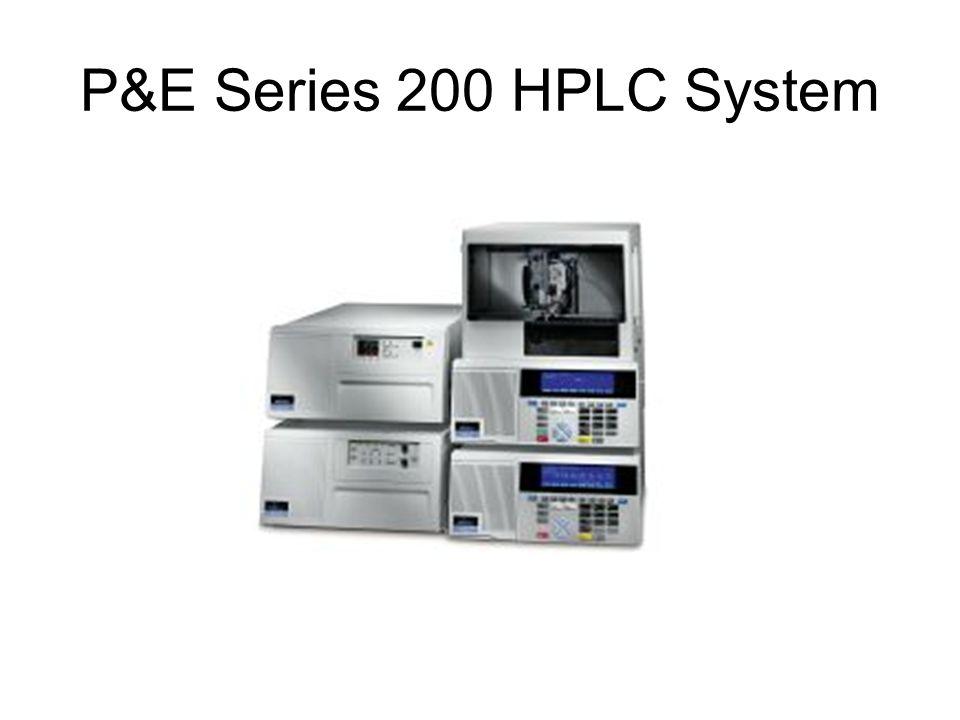 Varian Pro Star 200 Series HPLC System