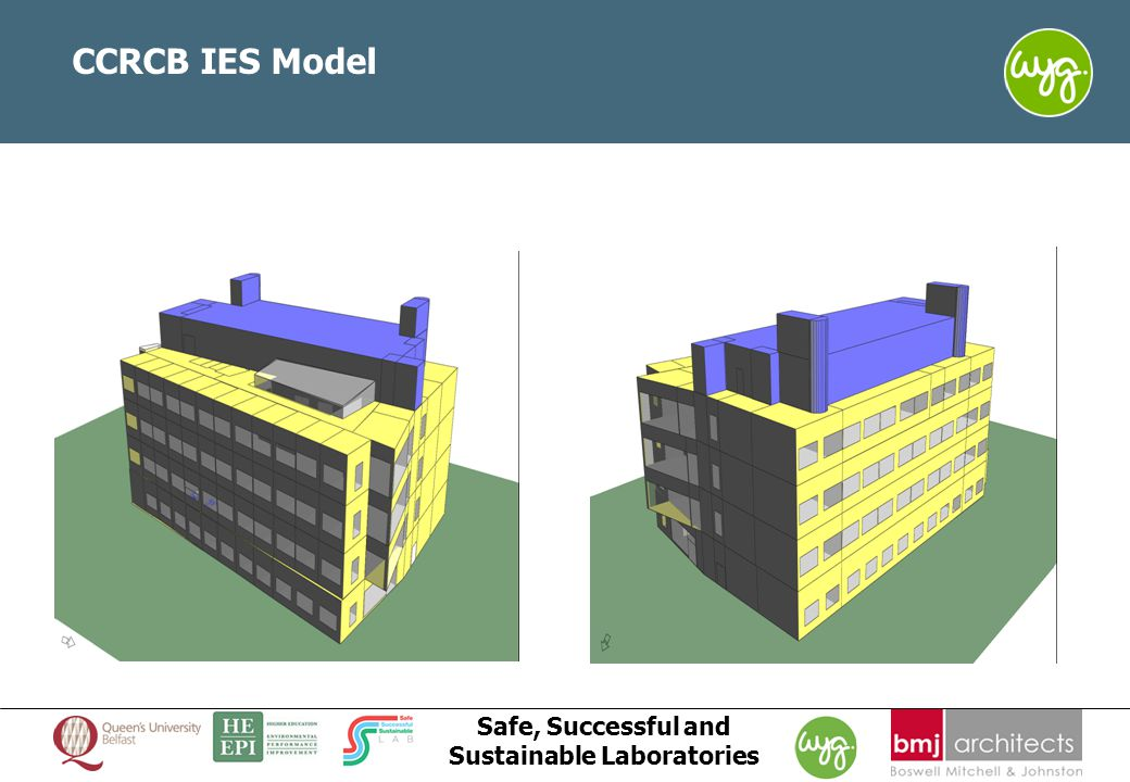 www.wyg.com/ireland creative minds safe hands Safe, Successful and Sustainable Laboratories CCRCB IES Model