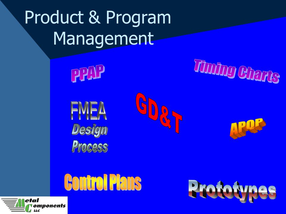 Product & Program Management