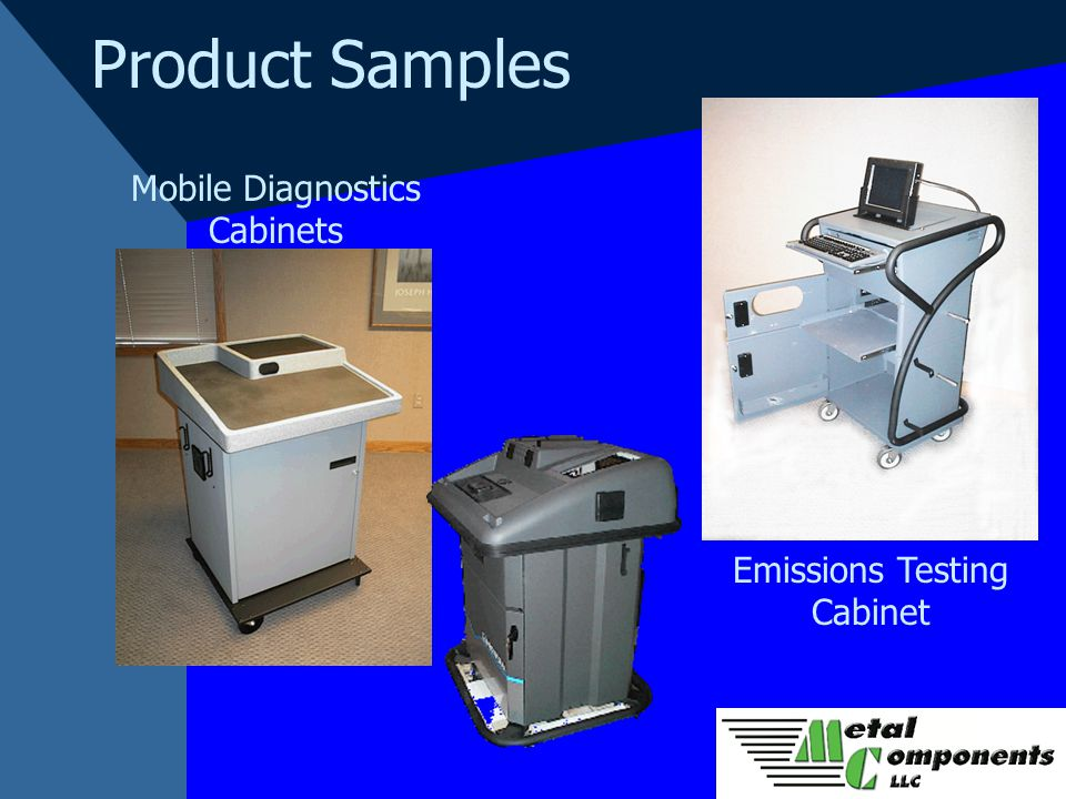 Product Samples Mobile Diagnostics Cabinets Emissions Testing Cabinet
