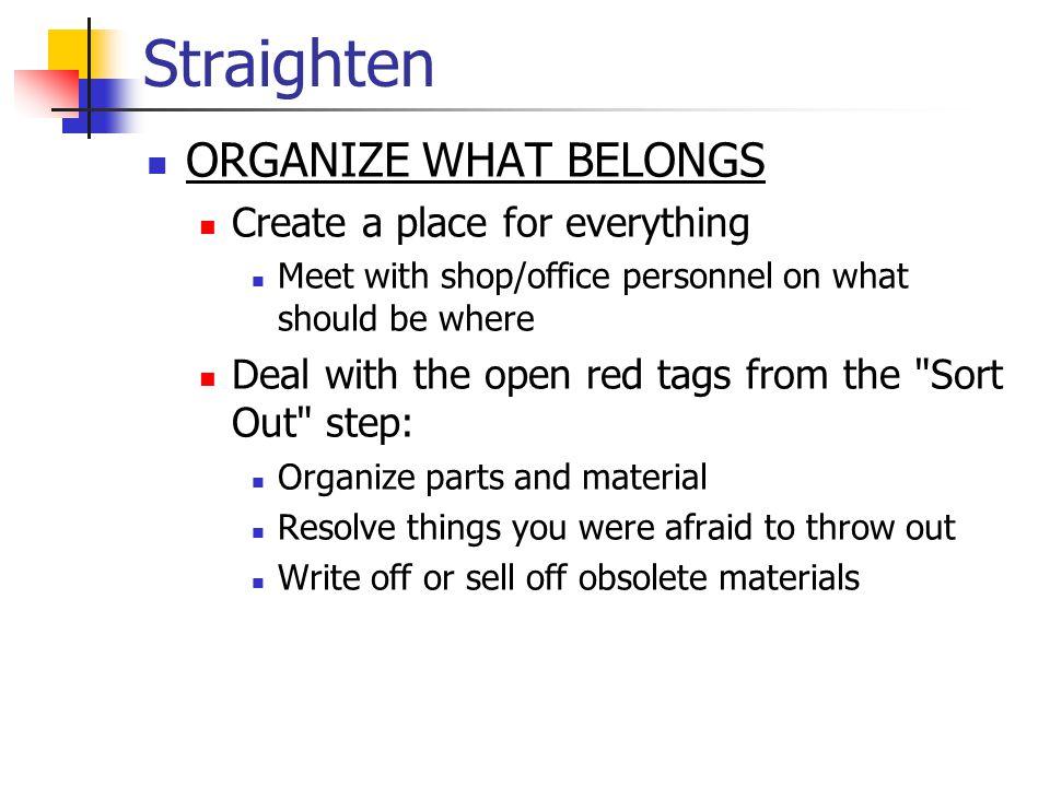 Straighten
