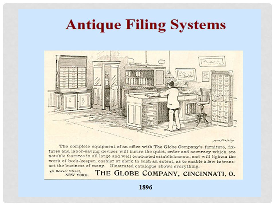 WHAT ARE THE DIFFERENT KINDS OF FILING SYSTEM: 1.ALPHABETIC NAME FILE (by name of individual or organization) Records that are referred to by name of an individual organization be arranged by name in strict alphabetic sequence or successive continuity.