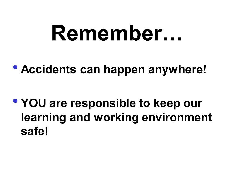 Work Safely