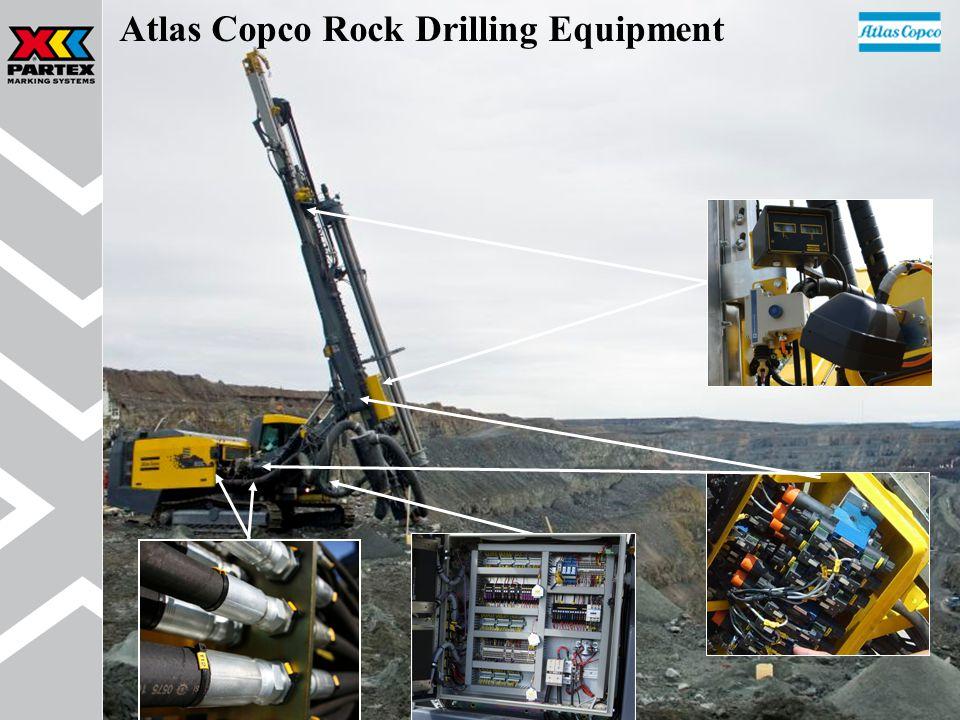 Atlas Copco Rock Drilling Equipment