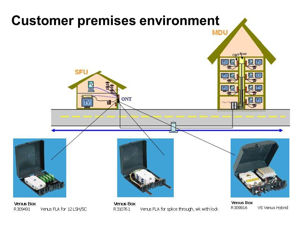Customer premises environment