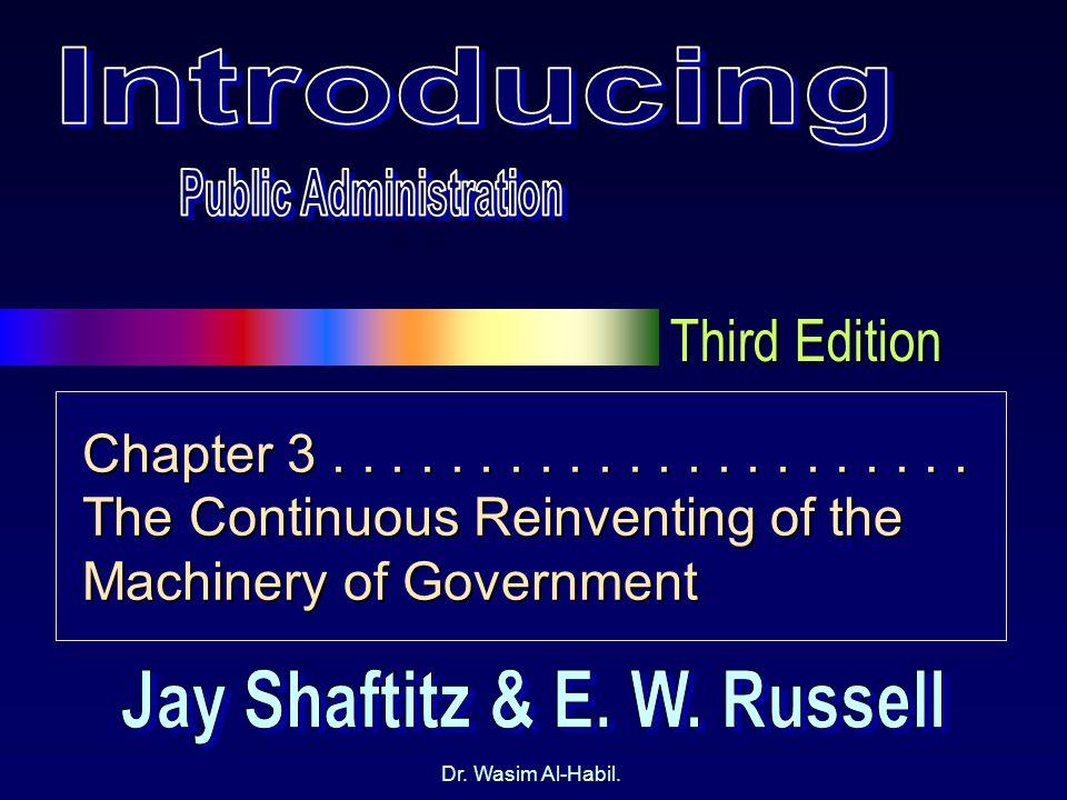 Third Edition Dr. Wasim Al-Habil. Chapter 3......................