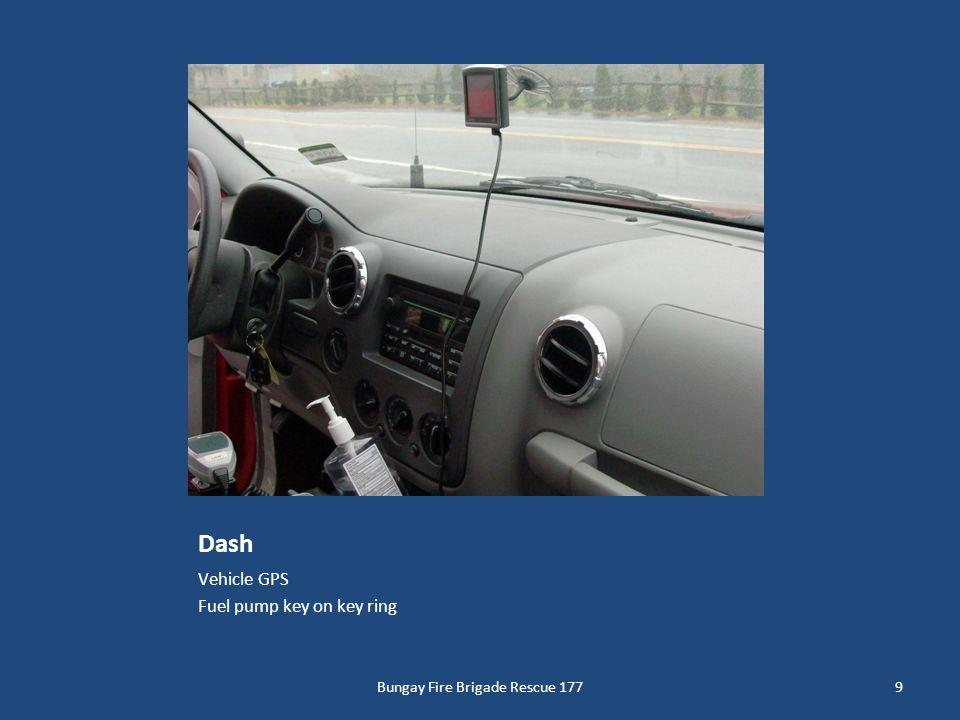 Dash Vehicle GPS Fuel pump key on key ring Bungay Fire Brigade Rescue 1779