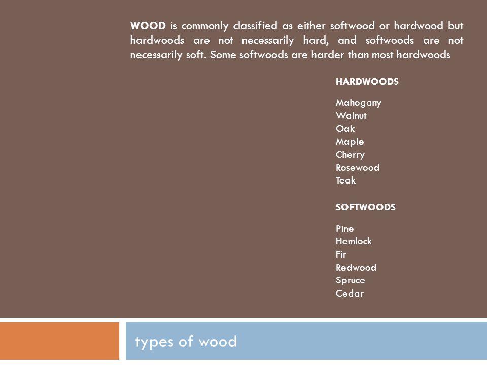 hardwoods MAHOGANY.
