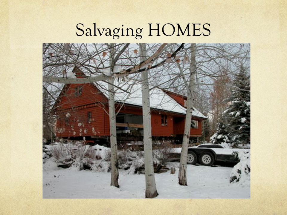 Salvaging HOMES