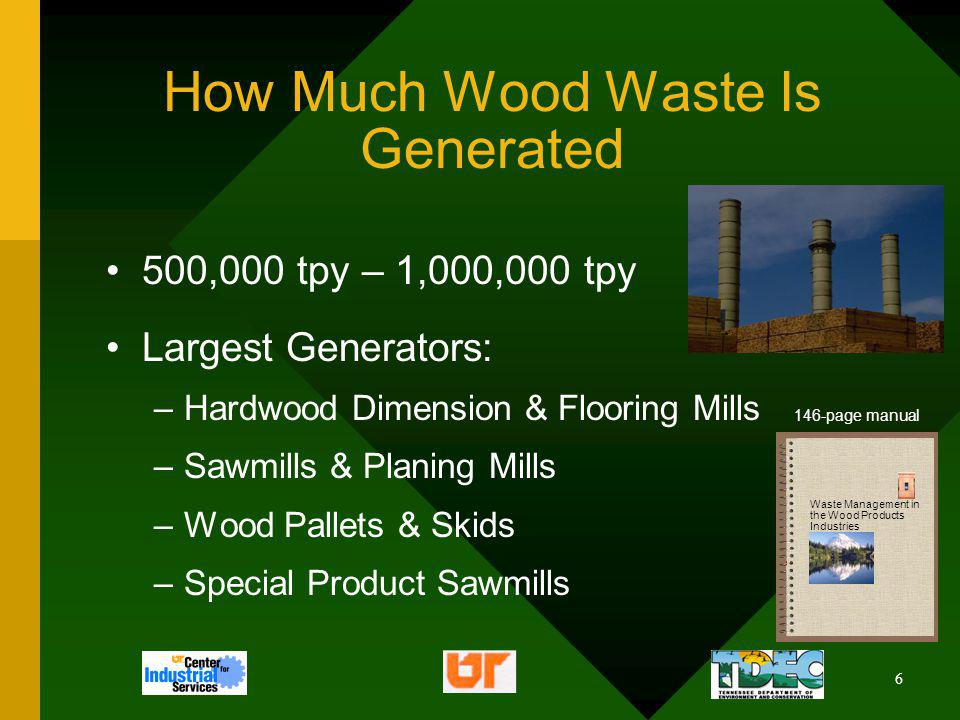 7 Where Wood Waste Is Generated