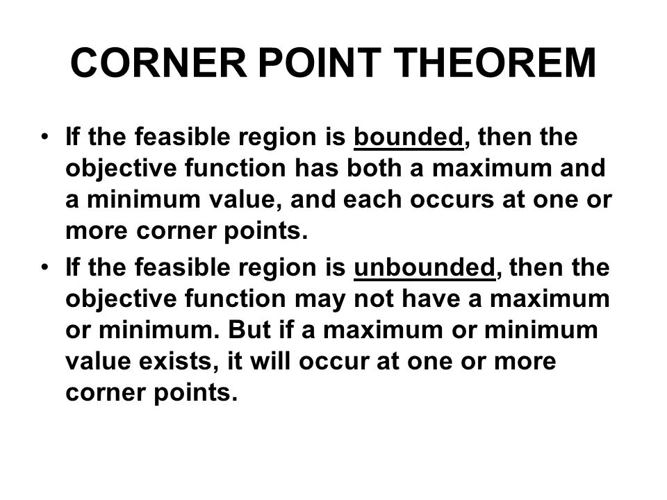 SOLVING LINEAR PROGRAMMING PROBLEM 1.Write the objective function and all necessary constraints.