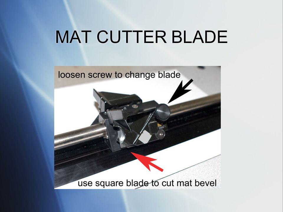 MAT CUTTER BLADE