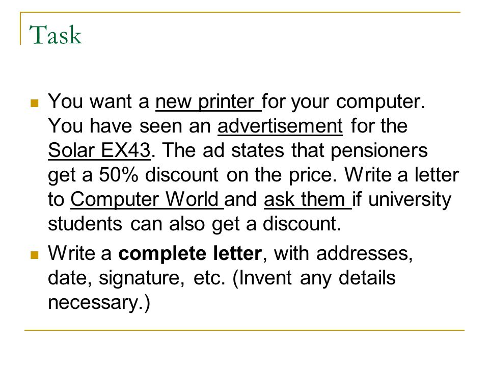 How would these messages start.You want to know the prices of some airconditioners.