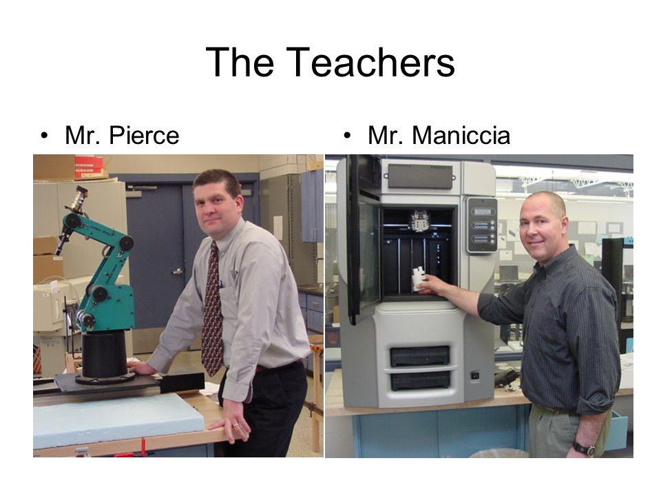 The Teachers Mr. PierceMr. Maniccia