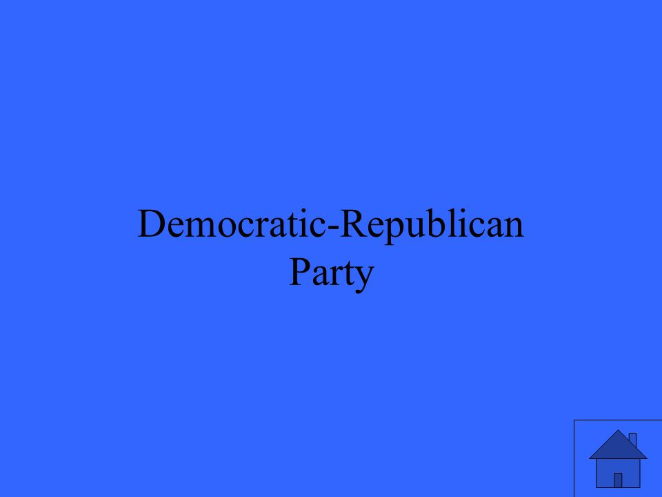 Democratic-Republican Party