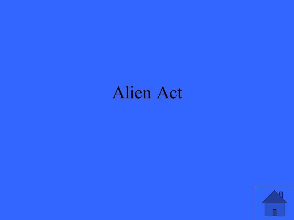 Alien Act