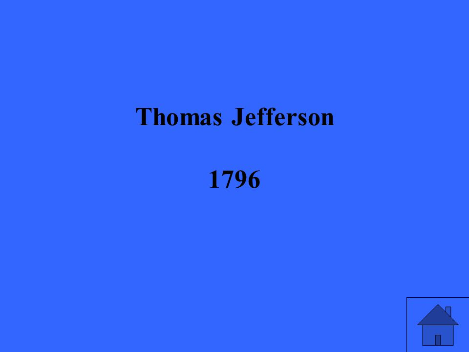 Thomas Jefferson 1796