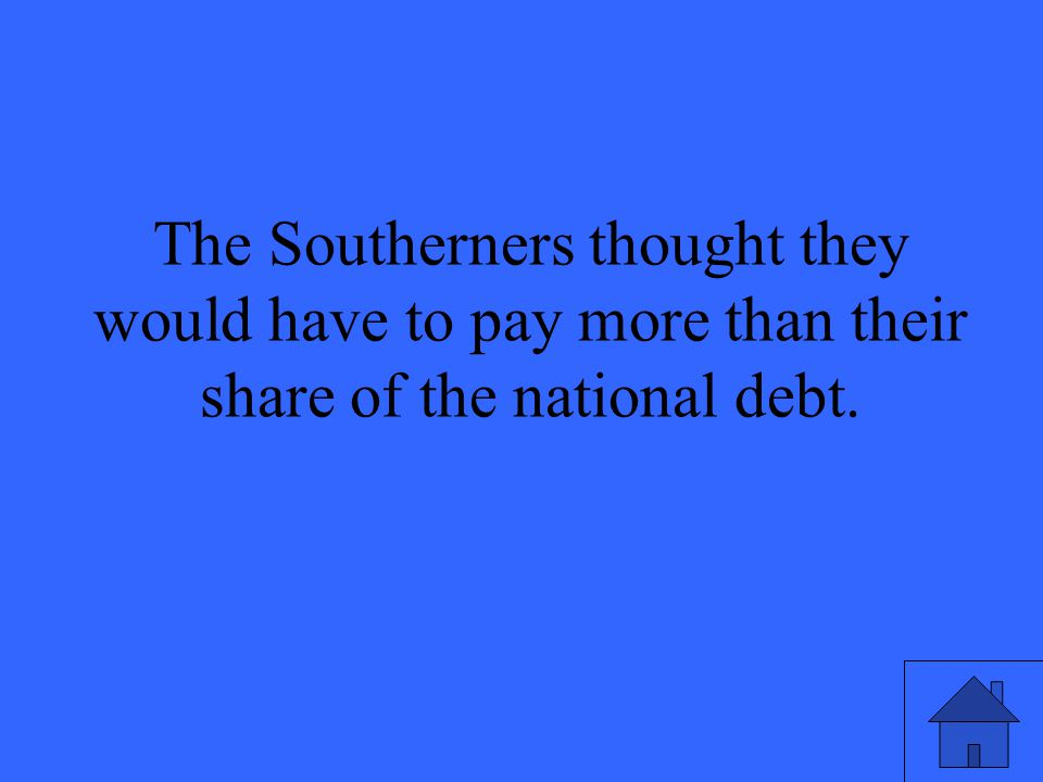 Which political party believed that the nation should have state banks, as opposed to a national bank.