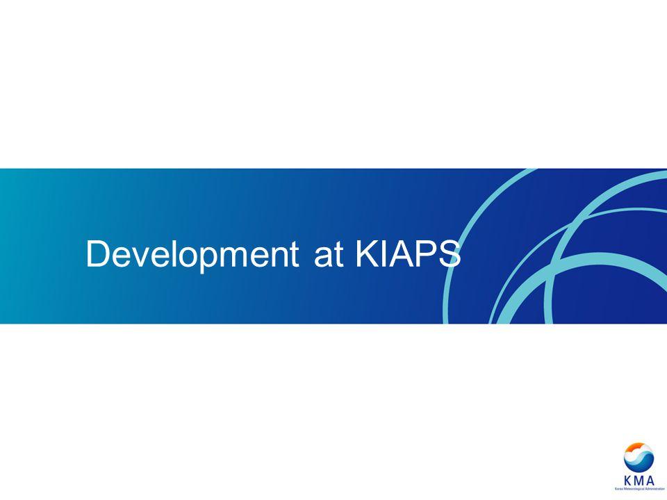 Development at KIAPS