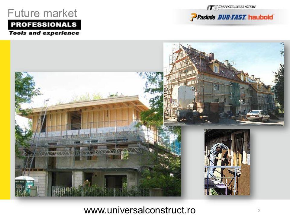 Michael Polworth ITW Befestigungssysteme GmbH 44 Holzbaupreis 2007 Gewinner des Holzbaupreises für innovative Bauprodukte 2007 www.universalconstruct.ro