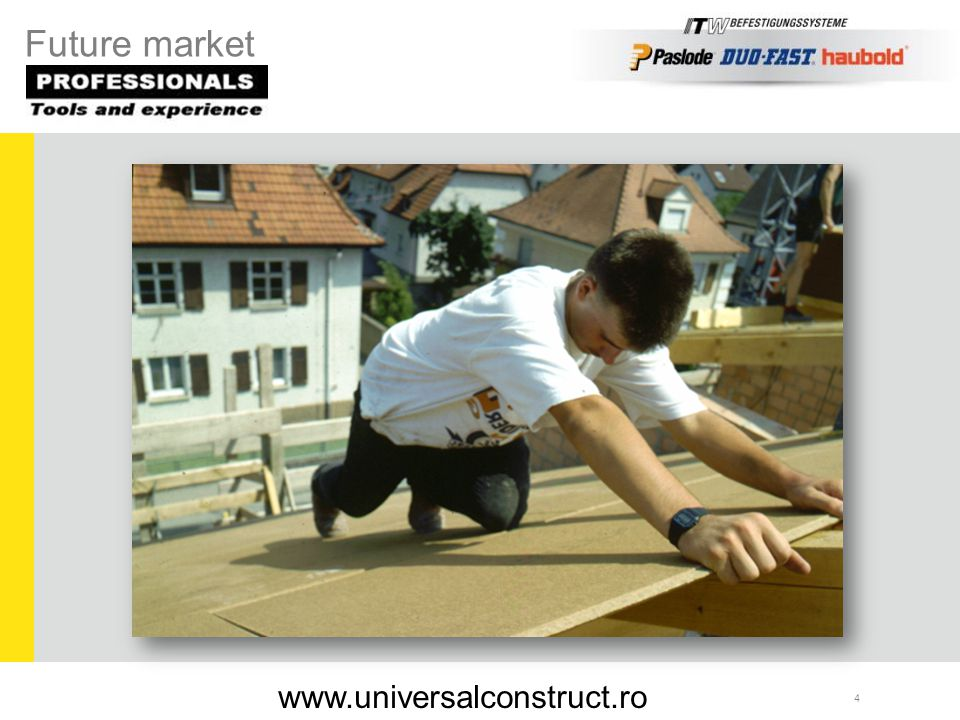 35 RNC S 22/40 C-Profil NK ballistic Applications: Fixation of gypsum boards onto metal subframes up to 1,2 mm RNC S-Profil www.universalconstruct.ro