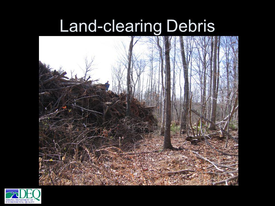 Land-clearing Debris
