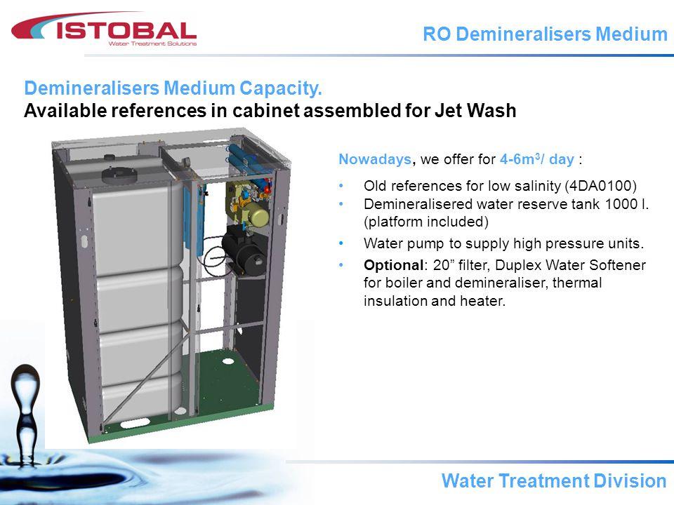 Water Treatment Division Under development Mod.