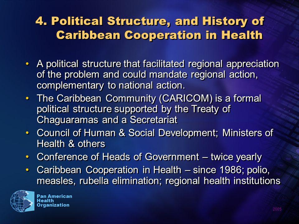 2005 Pan American Health Organization 4.