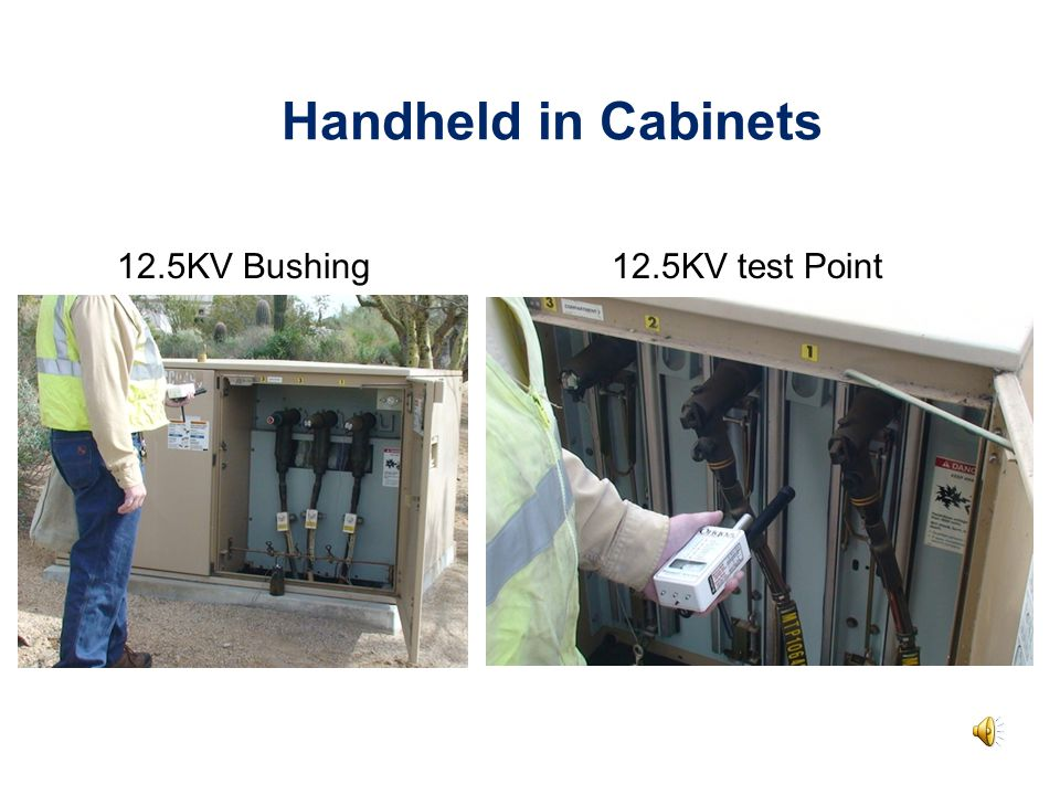 Handheld in Cabinets 12.5KV Bushing12.5KV test Point