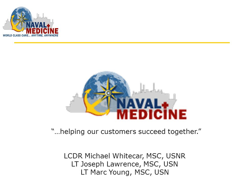 WARNING: Naval Medicine Online (NMO) may cause you to think differently and out of the box.