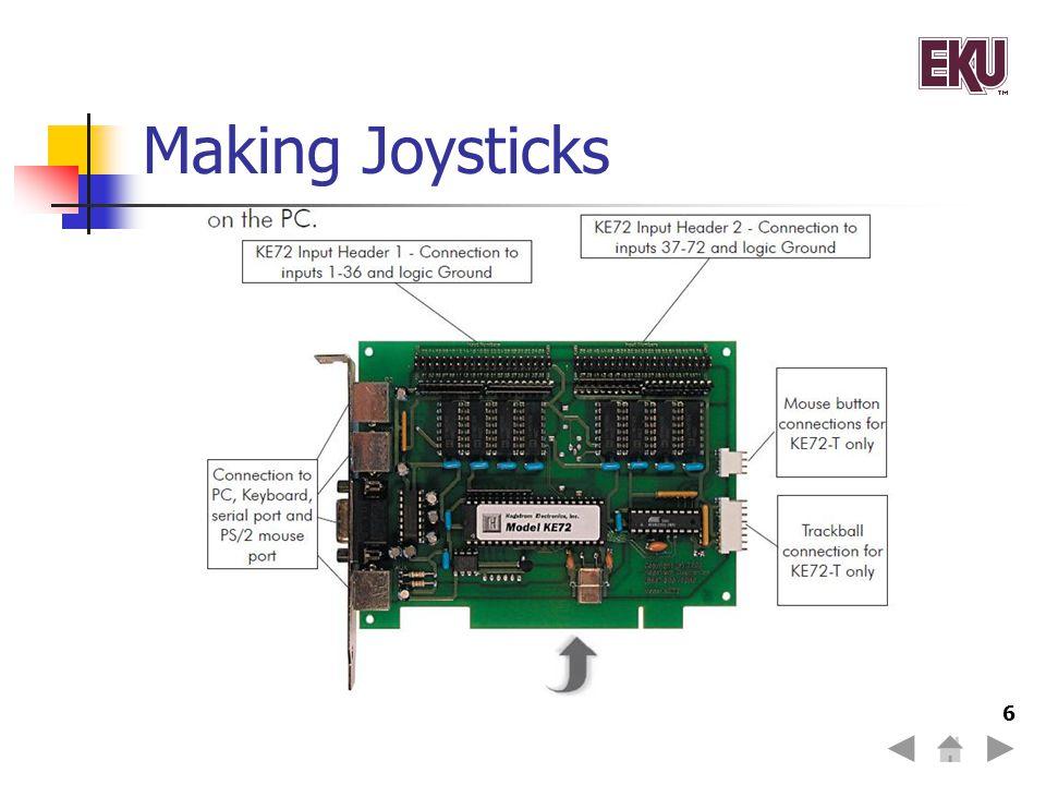 Making Joysticks 6