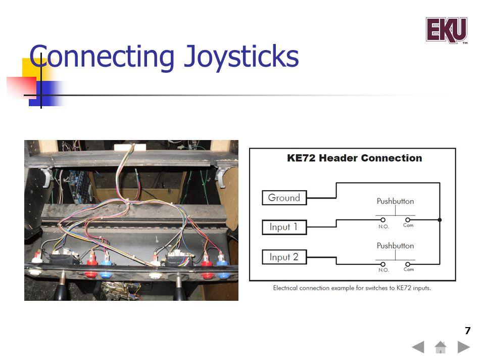 Connecting Joysticks 7