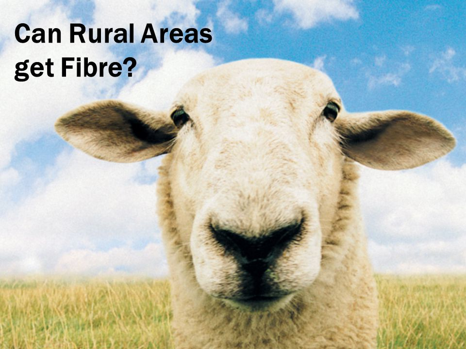 Can Rural Areas get Fibre?