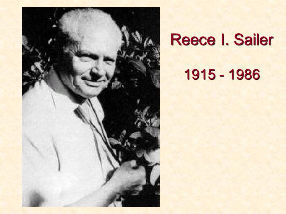 Reece I. Sailer 1915 - 1986