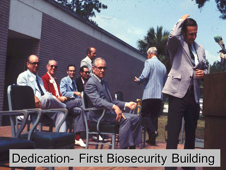 Dedication- First Biosecurity Building