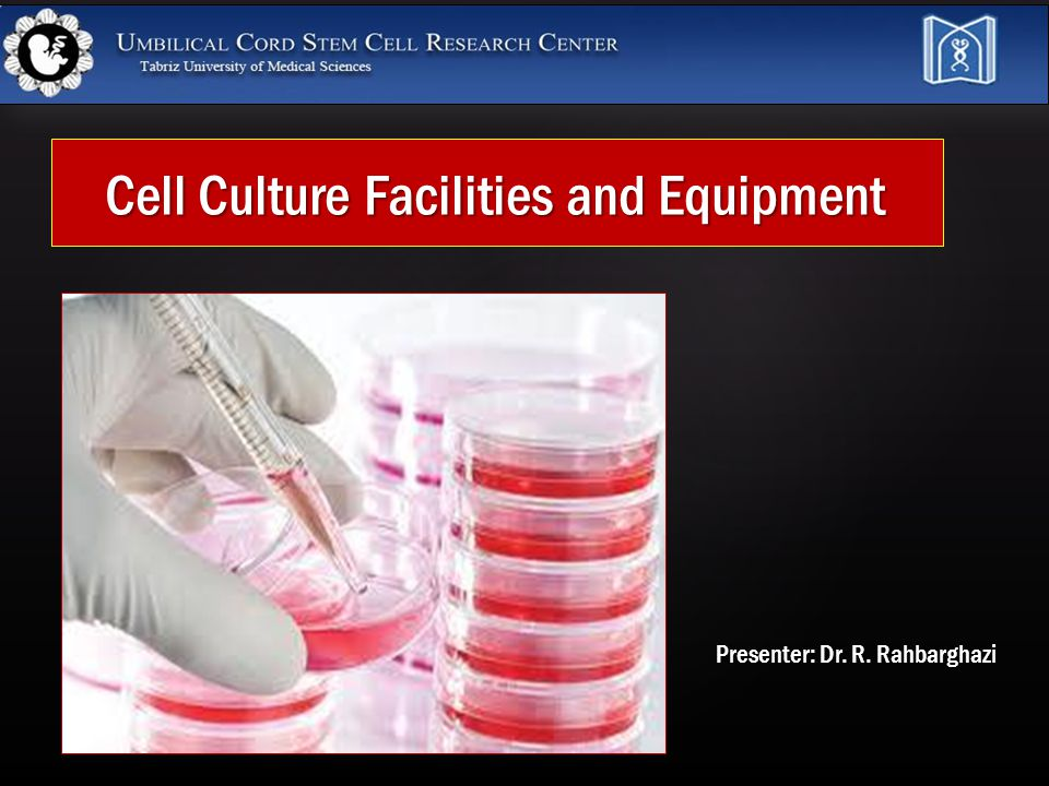 Small Tissue Culture Laboratory Small Tissue Culture Laboratory suggested for use by two or three persons