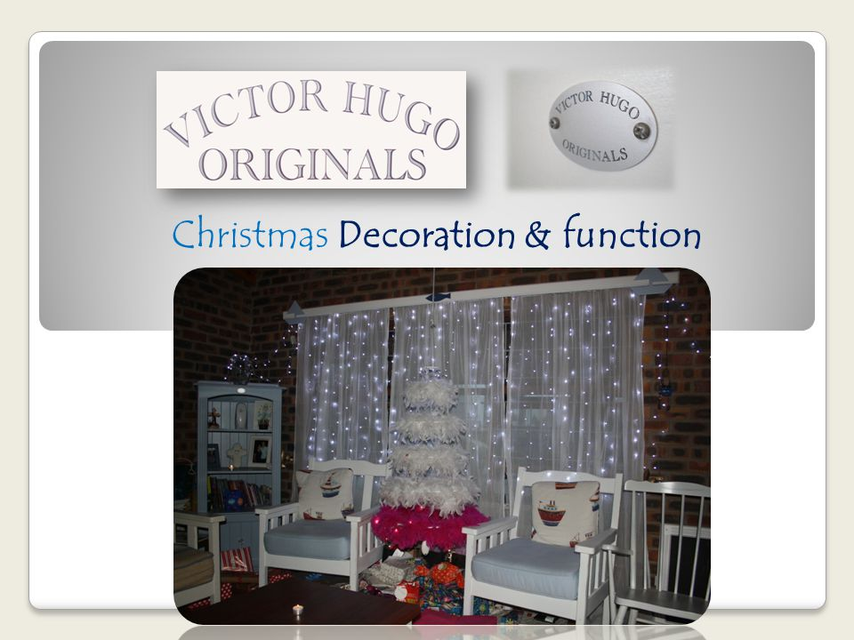Christmas Decoration & function