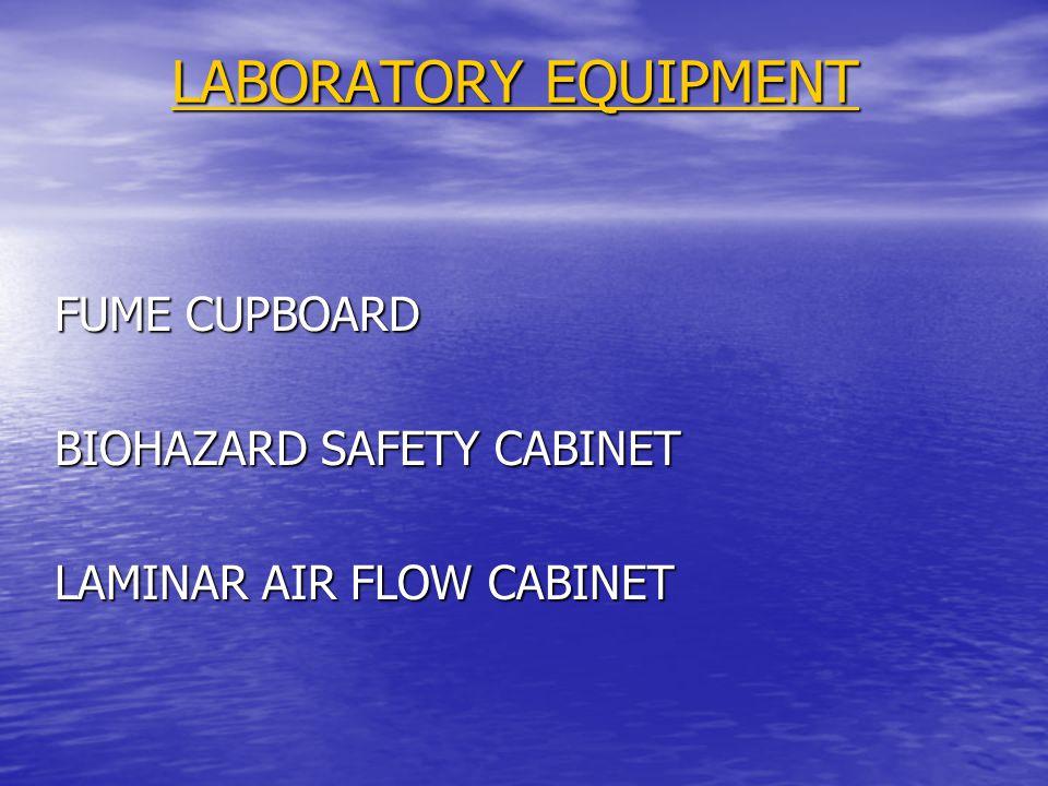 LABORATORY EQUIPMENT FUME CUPBOARD BIOHAZARD SAFETY CABINET LAMINAR AIR FLOW CABINET
