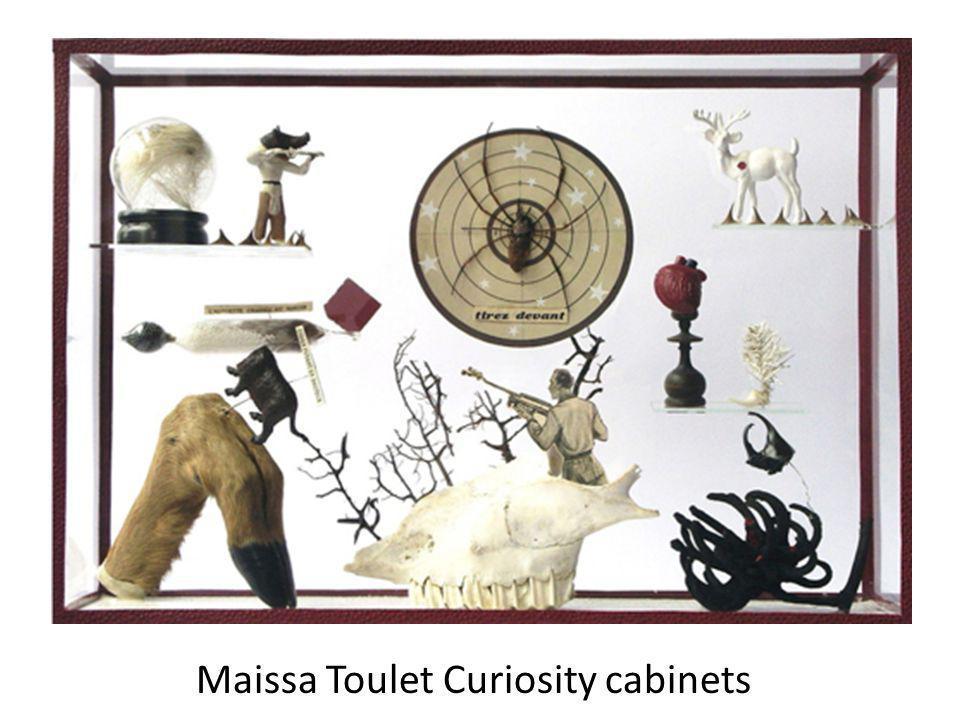 Maissa Toulet Curiosity cabinets