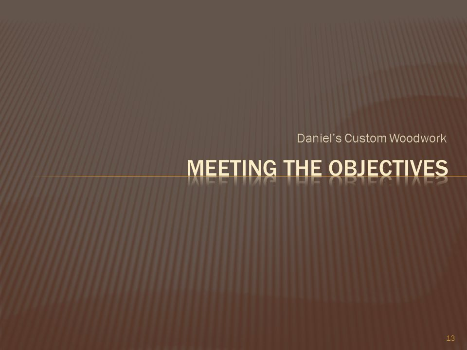 Daniels Custom Woodwork 13