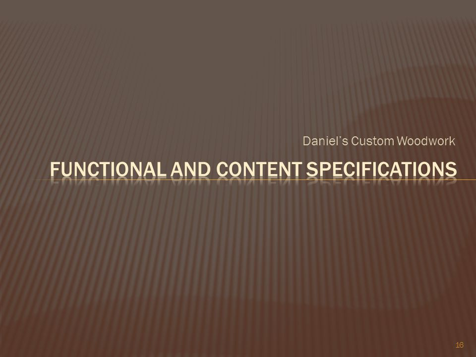 Daniels Custom Woodwork 16