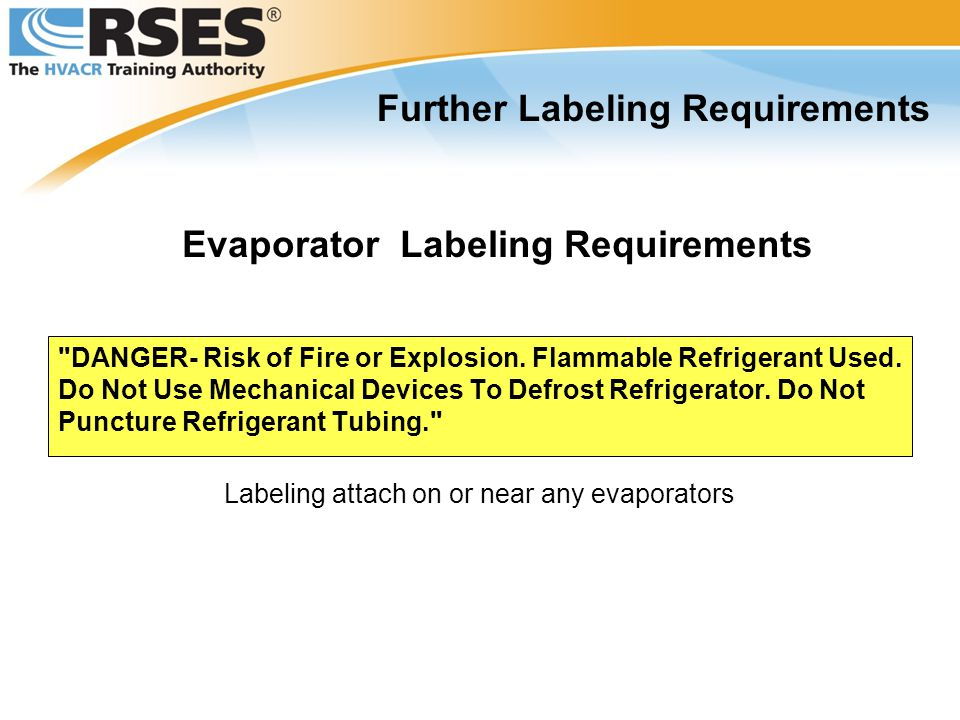DANGER- Risk of Fire or Explosion.Flammable Refrigerant Used.