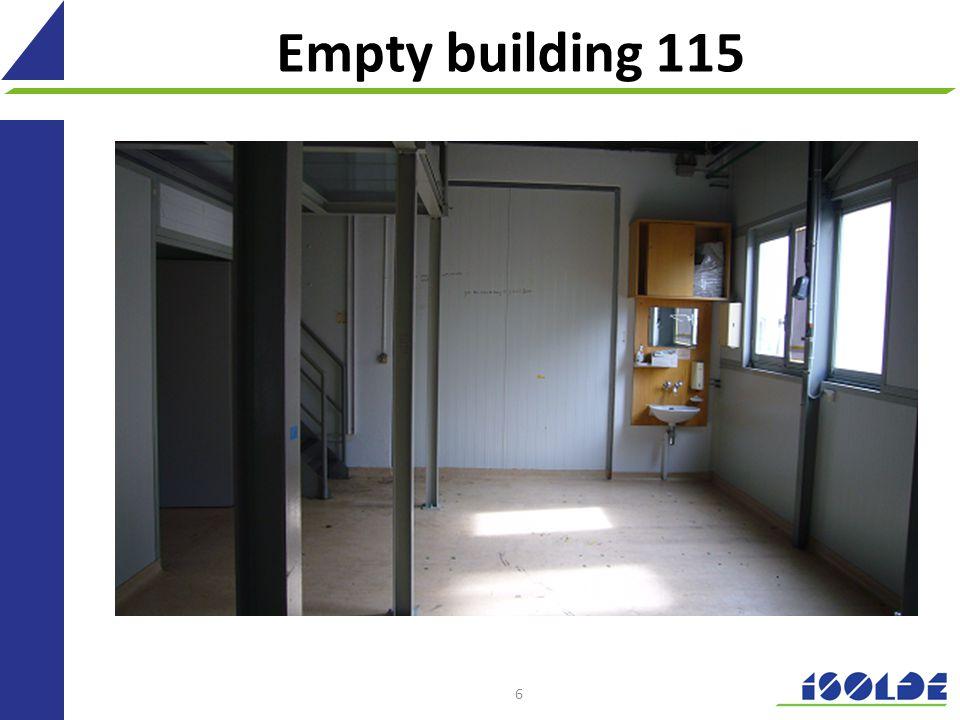 Empty building 115 6