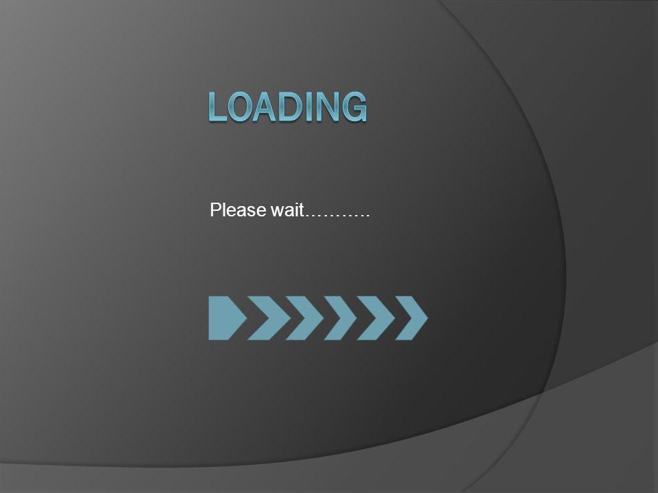 Please wait………..